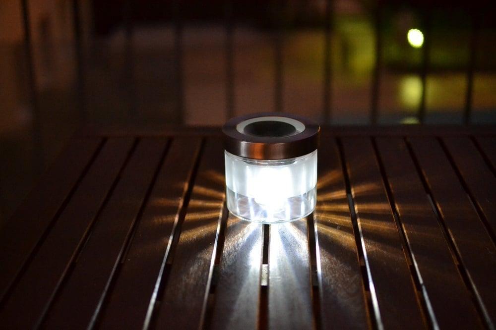 Droppar Jar Becomes A Solar Lamp For Balcony