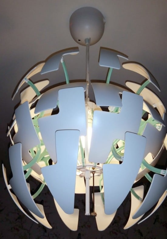 Automated IKEA PS 2014 Pendant Lamp