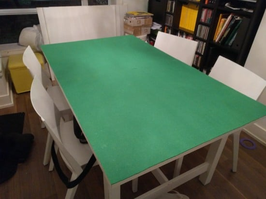 IKEA NORDEN covered in felt