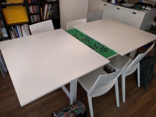 Norden Concealed Puzzle Table Ikea Hackers Ikea Hackers