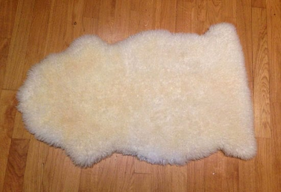 IKEA LUDDE sheepskin