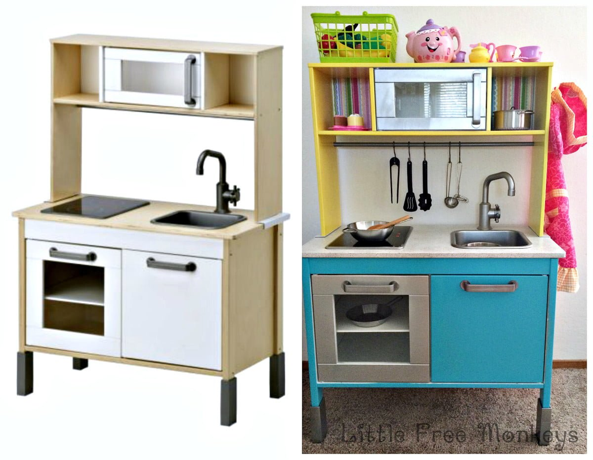 Ikea duktig play kitchen makeover ikea hackers ikea Ikea hacking