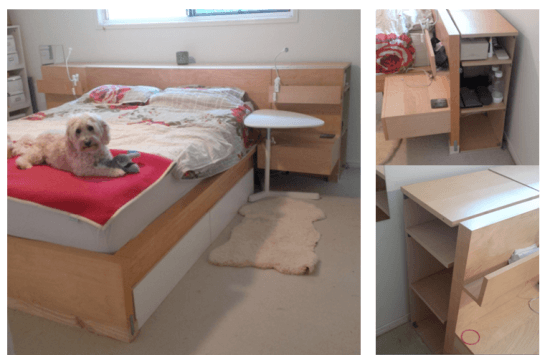 Malm Billy Bed head hack final 1