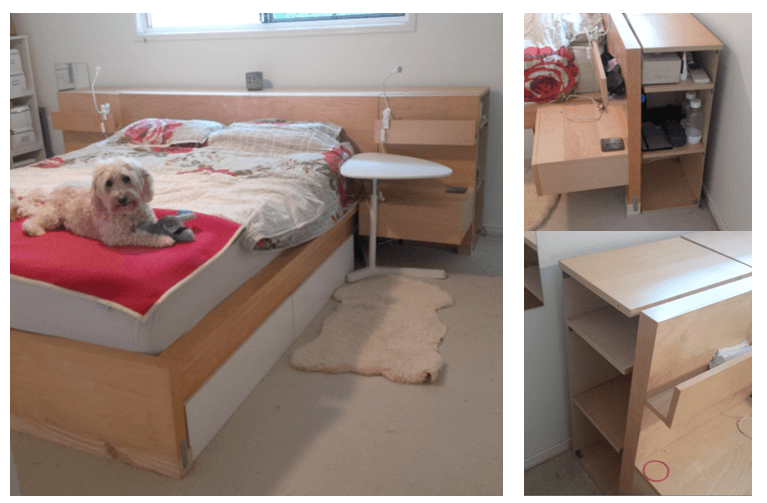 The Original Ikea Malm Billy Head Board And Under Bed Storage Hack