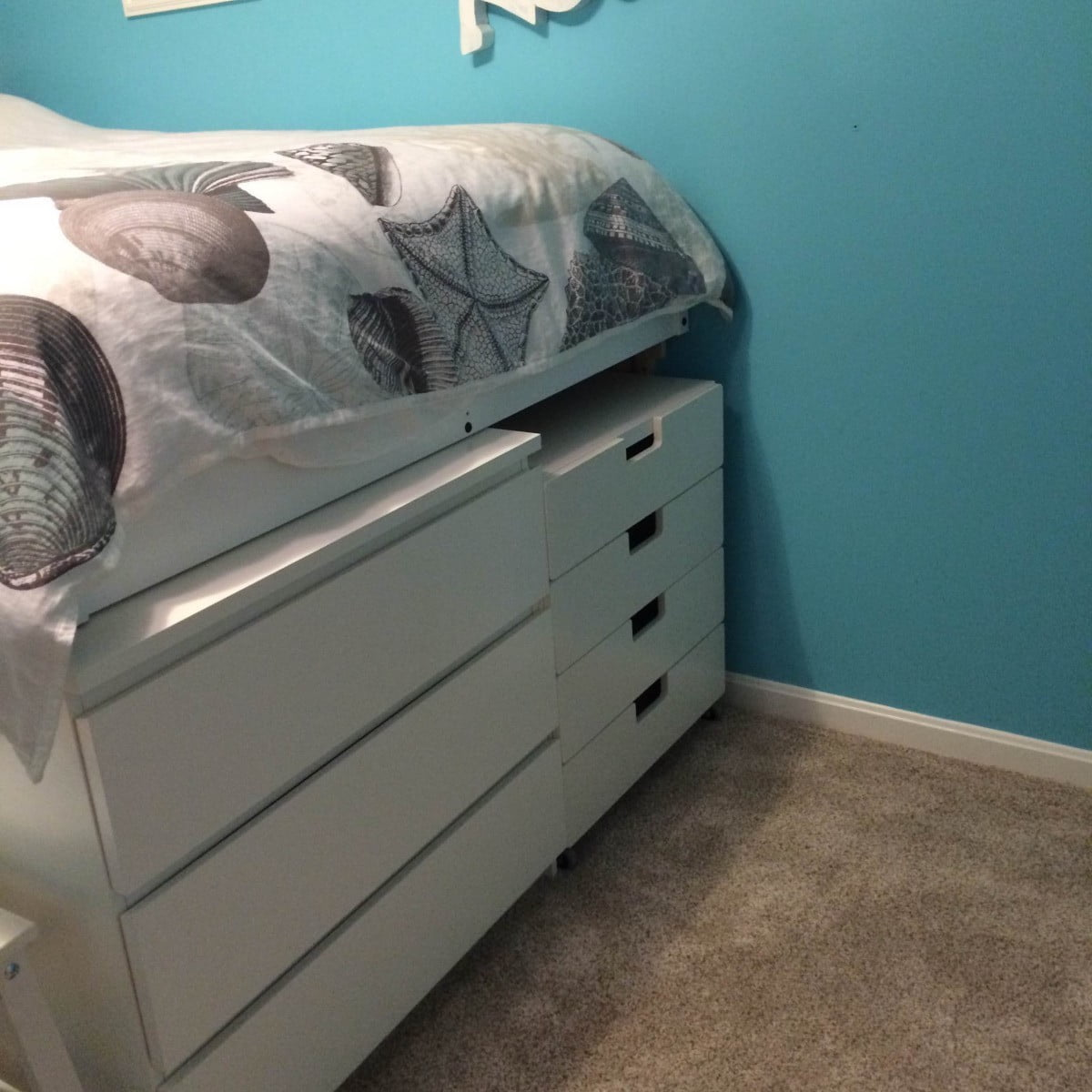 malm platform storage bed ikea hackers ikea hackers. Black Bedroom Furniture Sets. Home Design Ideas