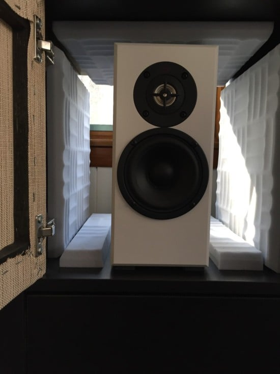 Speaker Cubby with No Back