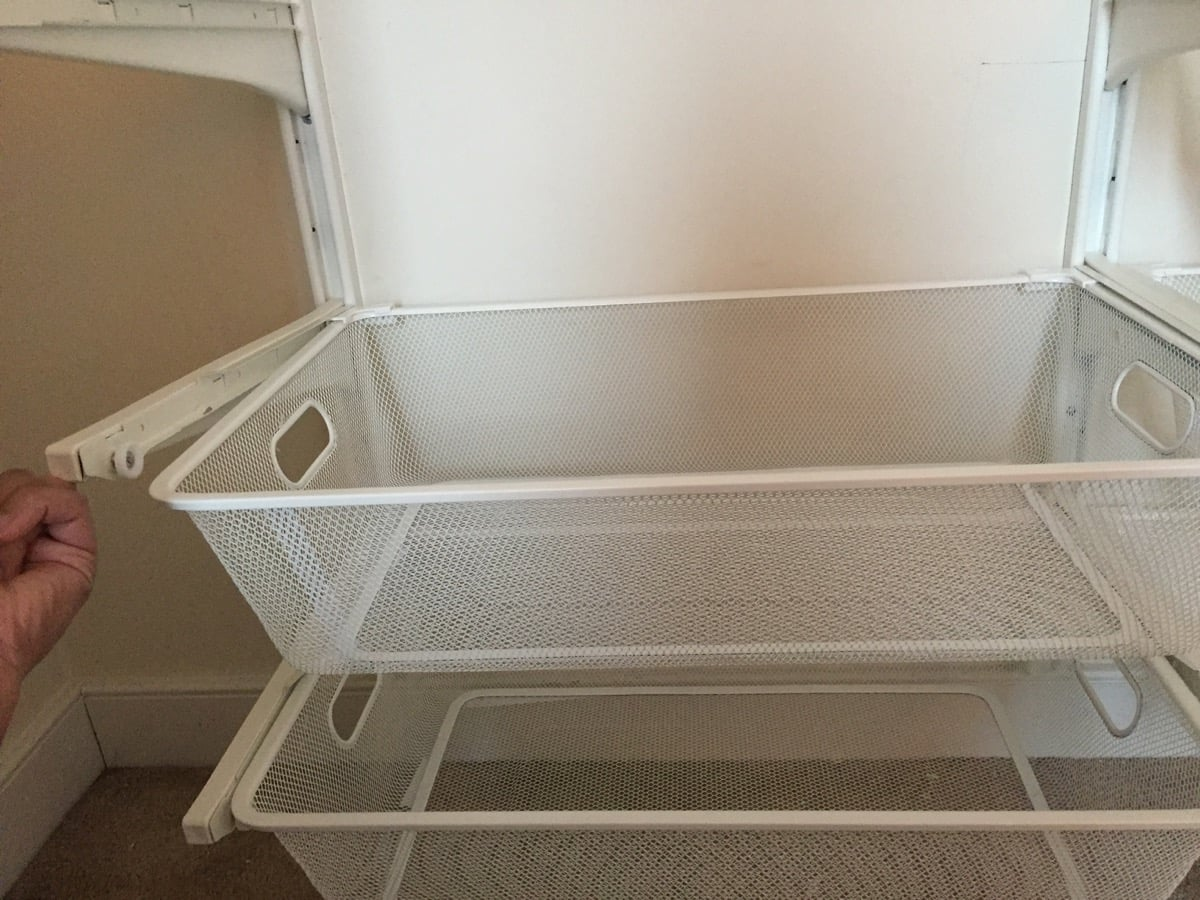 Hackers Help: Why does my ALGOT wire mesh basket not fit ...