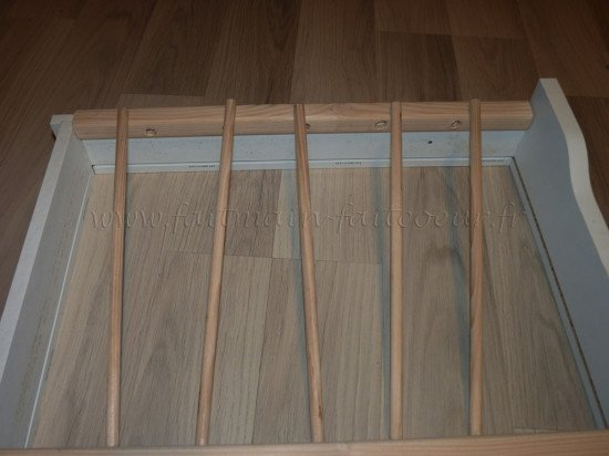 Cut dowels to the right length