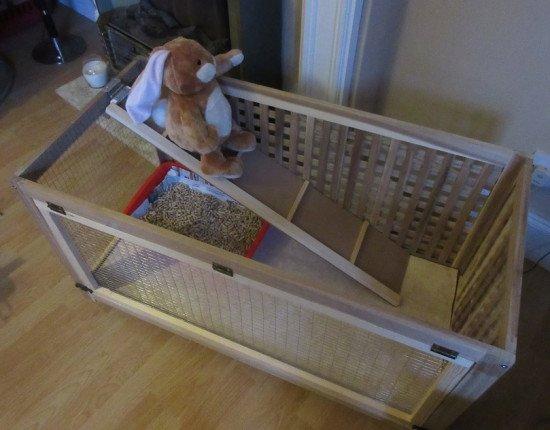 rabbit cage ikea hack