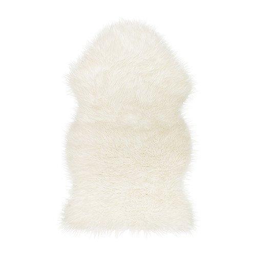 IKEA TEJN faux sheepskin white