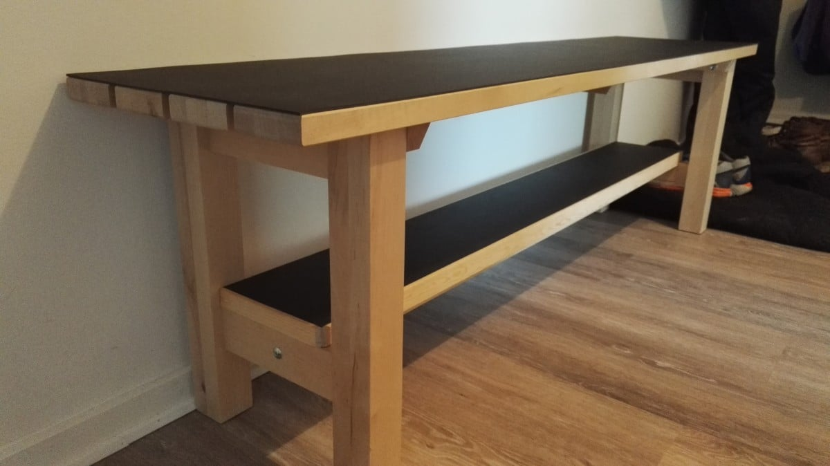 Ikea Norden Bench Upgrade For Landing Space Ikea Hackers