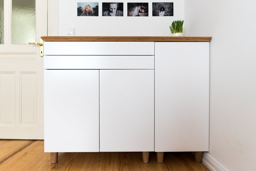 Ikea Diy Credenza : Ikea hack sideboard house beautiful