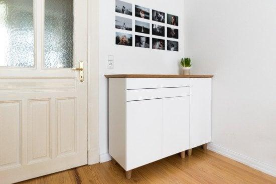 Scandinavian Bamboo Sideboard