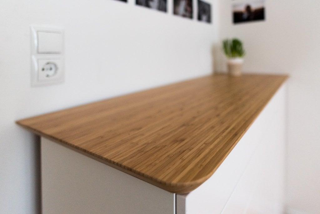 Scandinavian Bamboo Sideboard Ikea Hackers Ikea Hackers