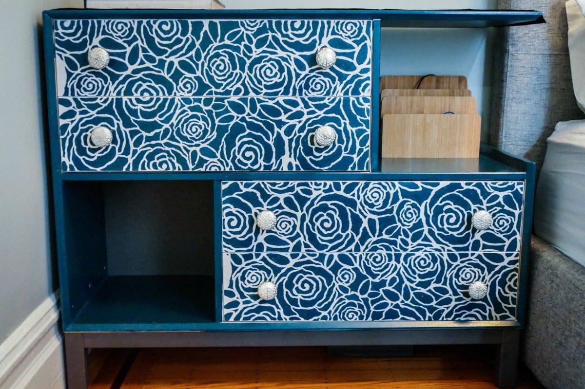 nornÄs nightstand hybrid with feminine flair - ikea hackers