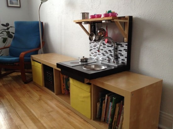 From LACK to embeddable play kitchen