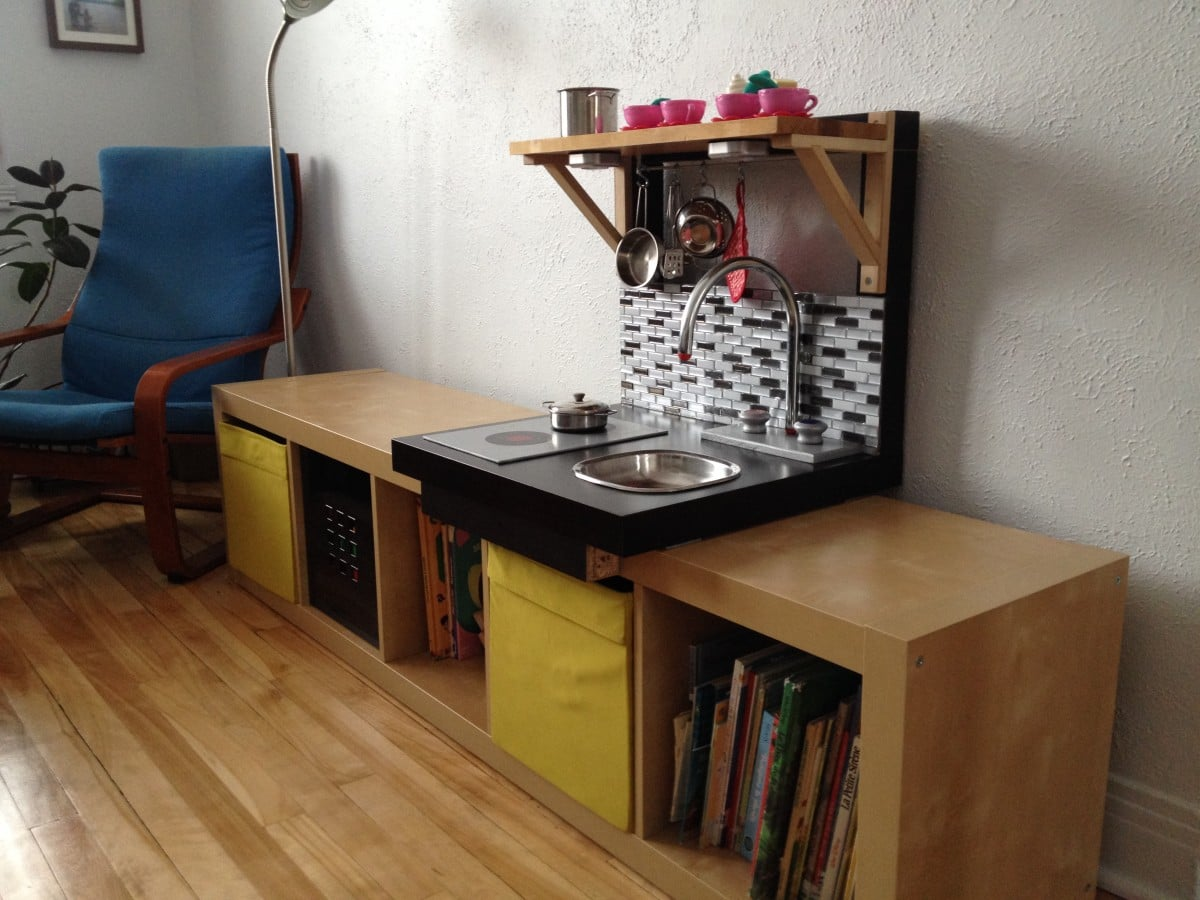 From lack to embeddable play kitchen ikea hackers ikea hackers - Ikea wooden kitchen playset ...