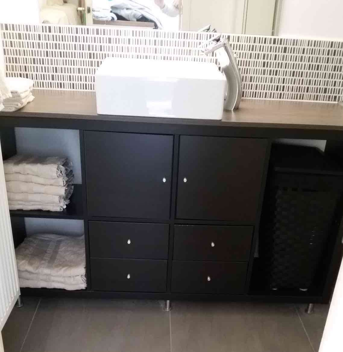 Kallax bathroom vanity for small bathroom ikea hackers - Bathroom vanities for small bathrooms ...