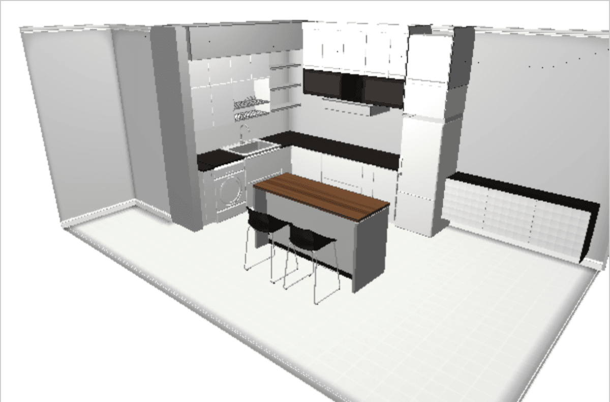 Ikea Home Planner Kitchen Plan 2