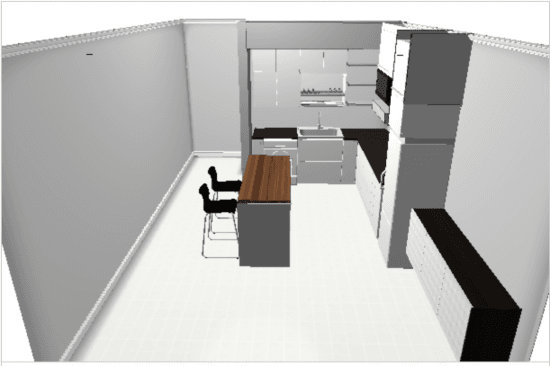 IKEA Home Planner - kitchen plan 2