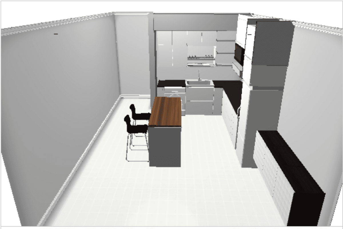 How I planned my space for IKEA kitchen cabinets - IKEA Hackers