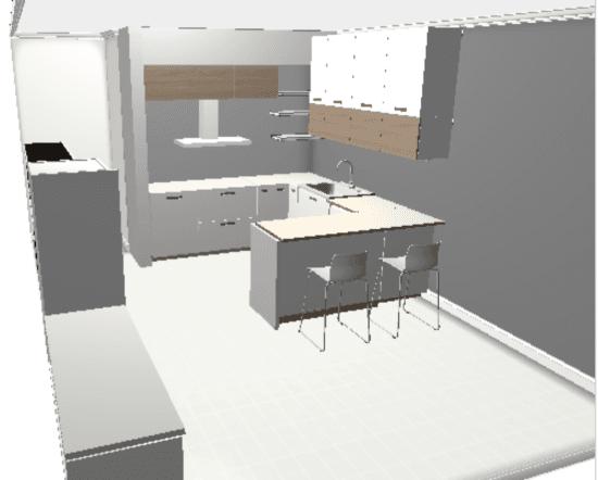 IKEA Home Planner - kitchen plan 1