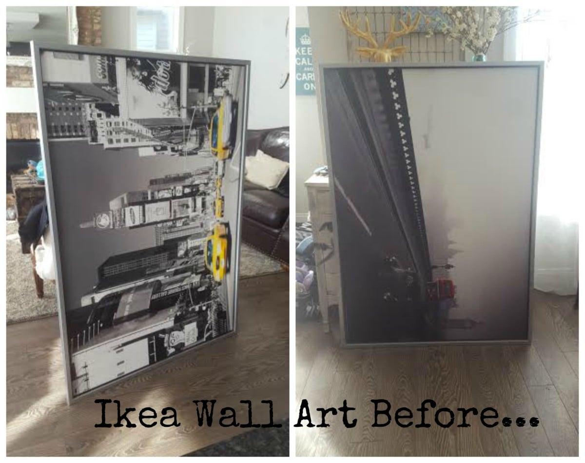 Ikea Wall Art To French Letter Hack Ikea Hackers