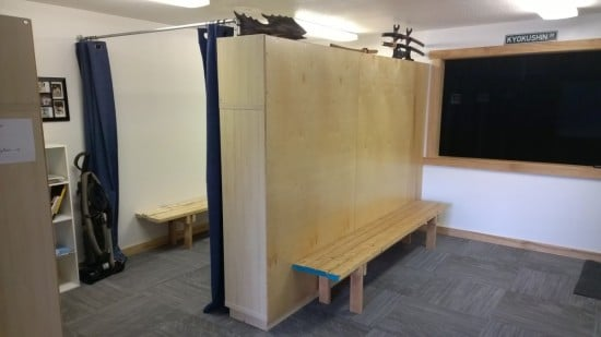 KALLAX Changing Room with Storage