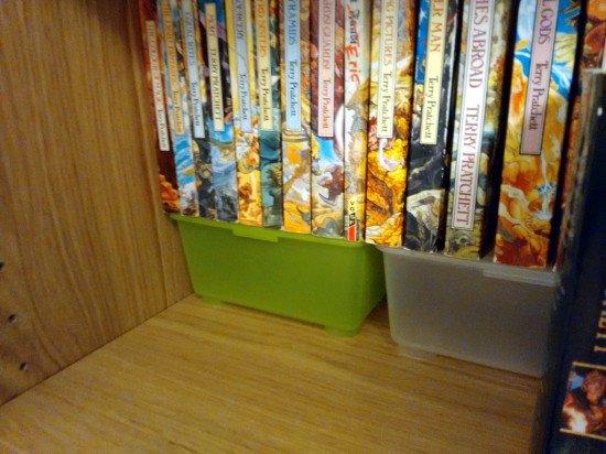 Billy Glis Boxes Tiered Bookshelf Ikea Hackers