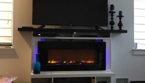 custom fireplace with mantel
