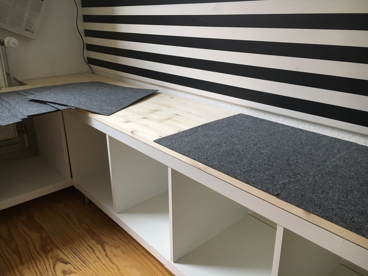 Picture of: Ikea Kallax Kitchen Corner Seating Ikea Hackers