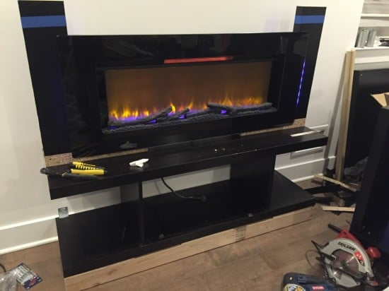 how to build a mantel surround