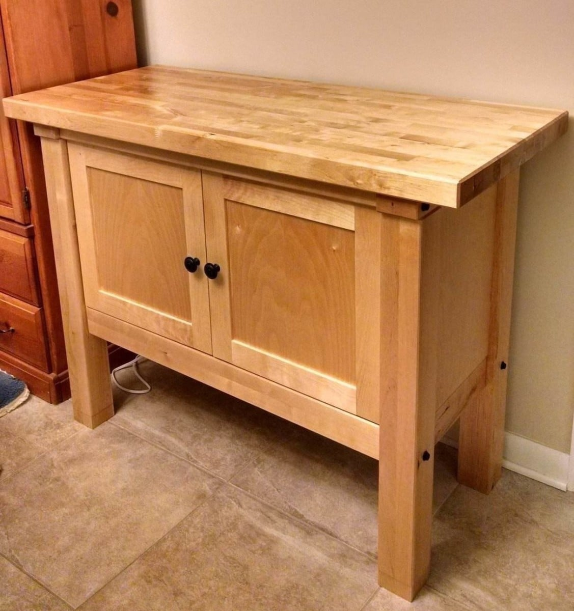 Groland Island To Cabinet Conversion Ikea Hackers