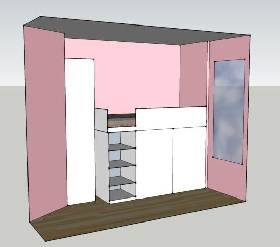 PIC OF SKETCHUP CABIN BED