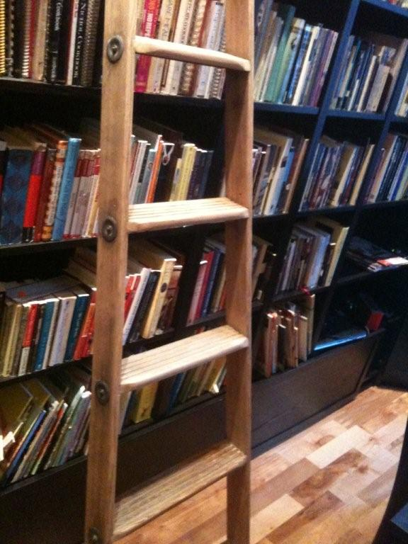 Hacked and Stacked Billy Rolling Ladder Library IKEA Hackers – Rolling Ladders for Bookcases