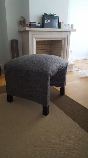 LACK dressing room stool