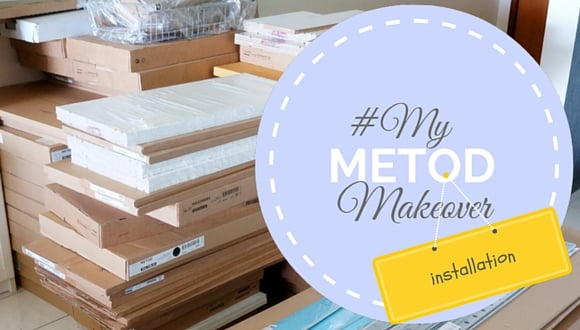 my metod makeover installation ikea hackers