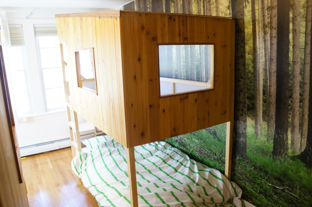 Kura Treehouse Beds Ikea Hackers
