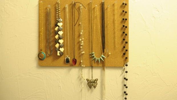 Ikea Placemat To Jewelry Organizer Ikea Hackers Ikea