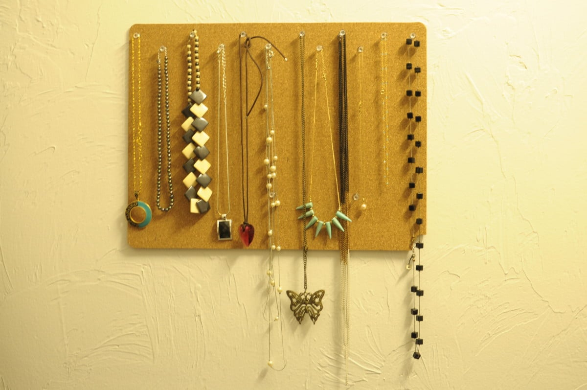 IKEA Placemat to Jewelry Organizer IKEA Hackers