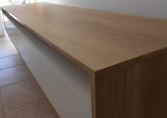 Oak board for the top