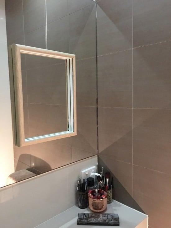 bathroom vanity mirror with lights