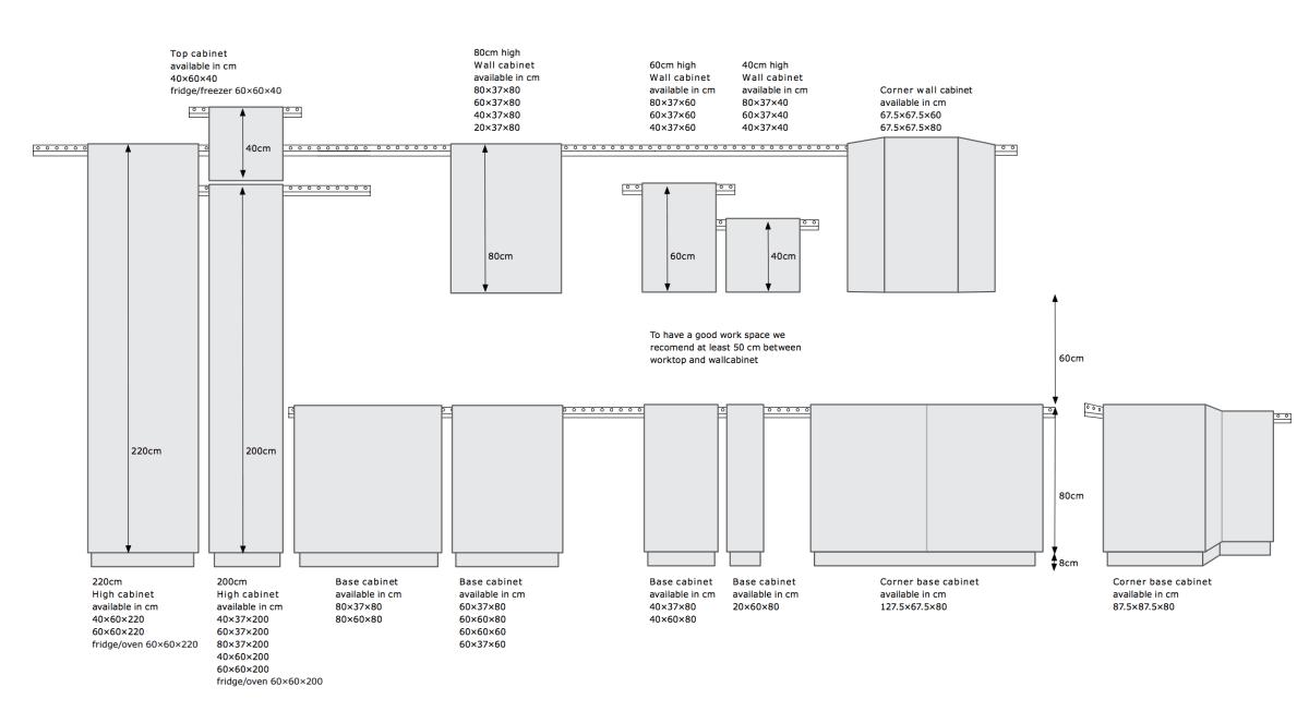 Metod Frame Dimensions