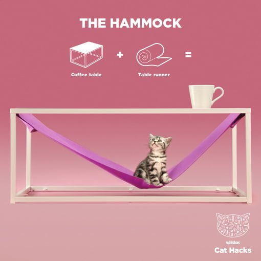 The Cat Hammock IKEA Cat Hack