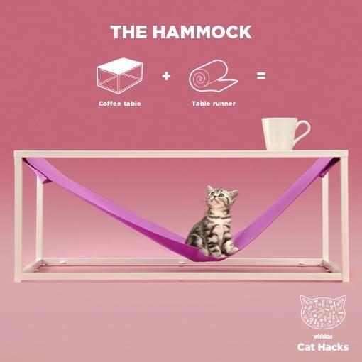 The Cat Hammock IKEA Cat Hack