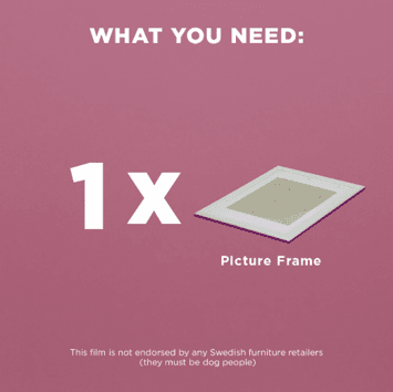 1 x SÖNDRUM Frame