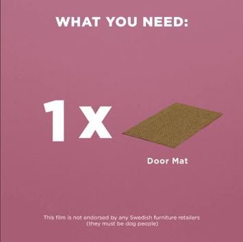 1x SINDAL Door Mat