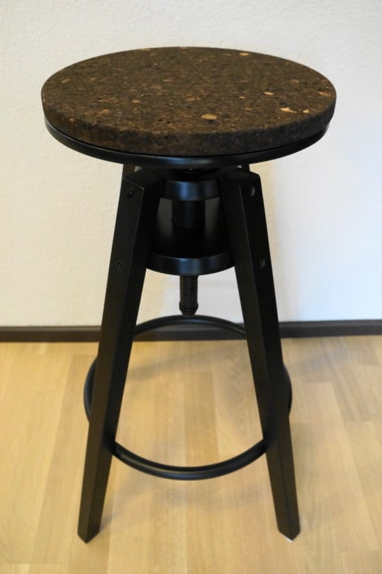 Dalfred bar stool with Sinnerlig cork top