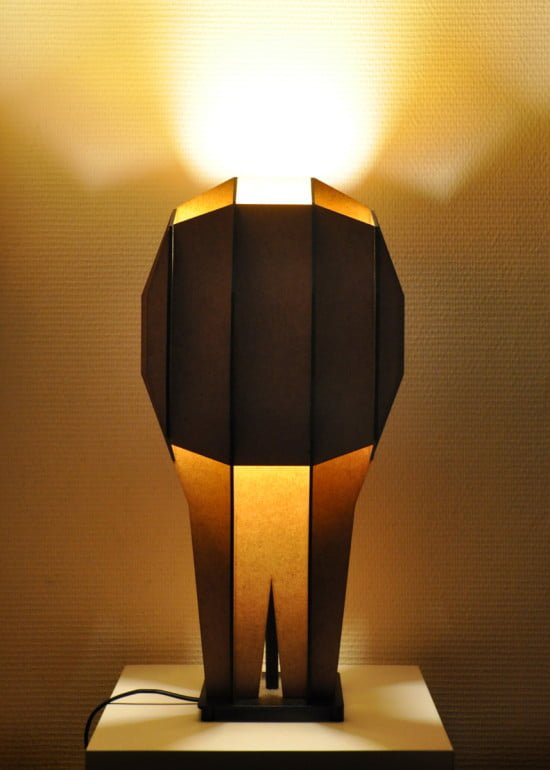 Grid lamp - front on