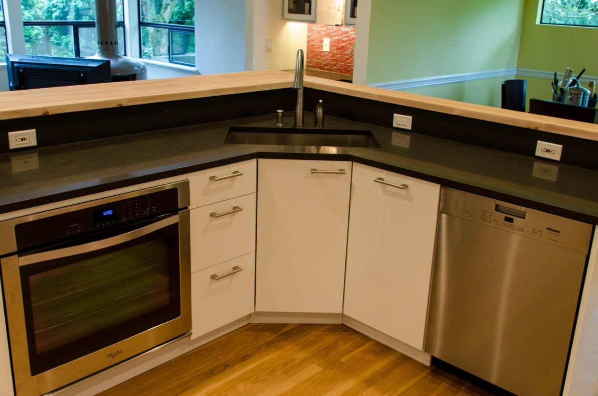hackers help how to hack this corner kitchen cabinet for sektion - Ikea Kitchen Sink
